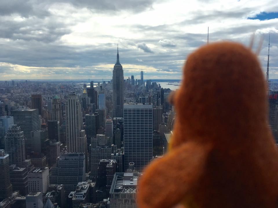 Peep in NY.