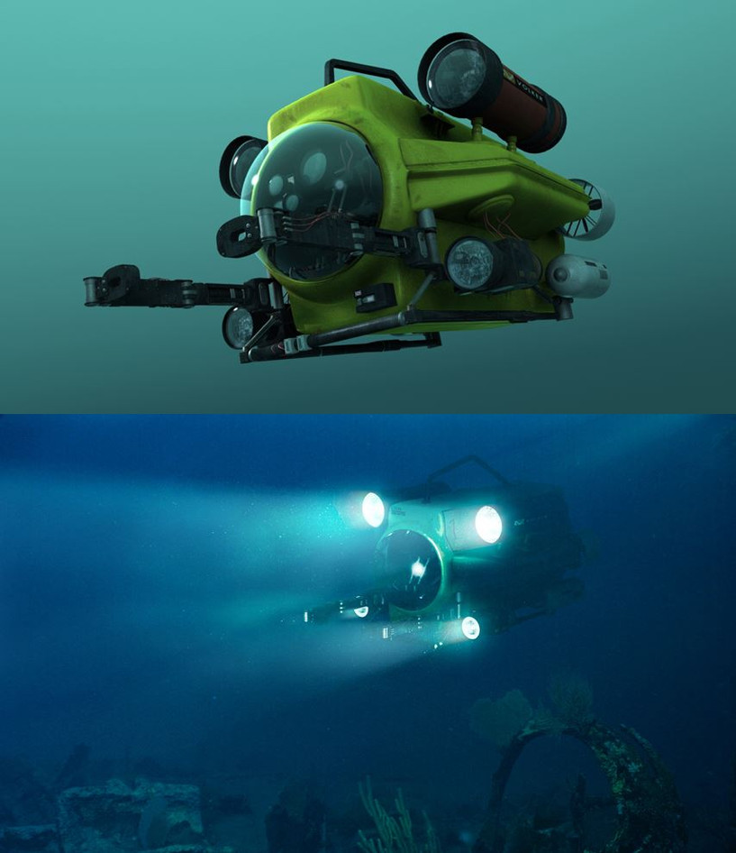 ROV CG model/Test-composite with CG ROV