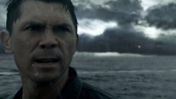 Lou Diamond Phillips knows a storm is coming