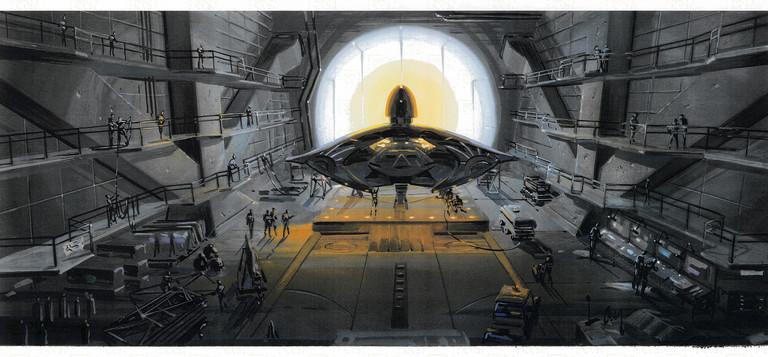 Concept art Area 51