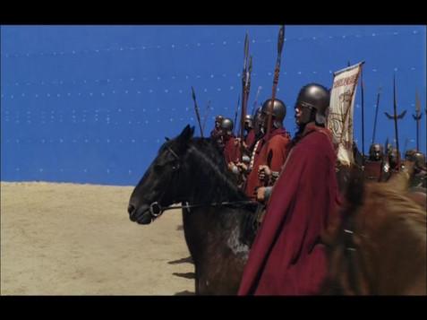 King Gunthers Army/Bluescreen element shoot