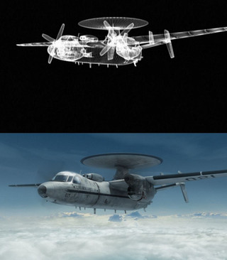 CG Weather Seeker plane/Finished composite