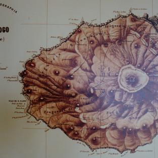 Fogo - die alte Karte