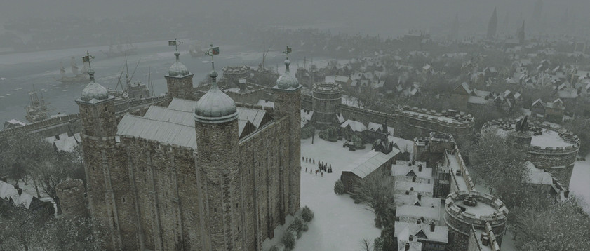 Winter Tower of London finished composite