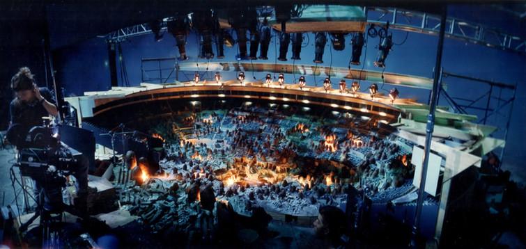 VFX DP Anna Foerster with interior Madison Square Garden