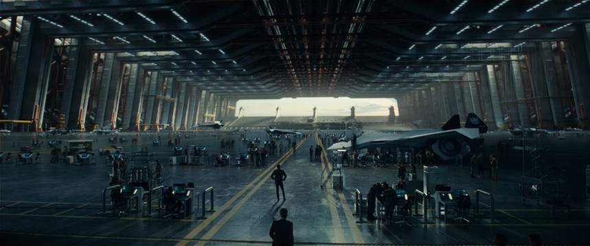Interior Area 51 hangar final shot by Uncharted Territory