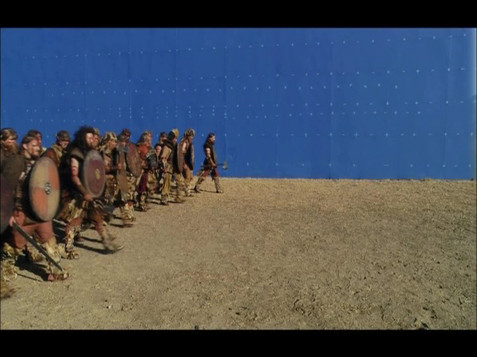 Army of the the Twin Kings/Bluescreen element shoot in Capetown