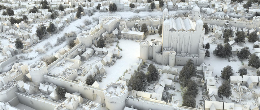 The Tower of London CG Model (all shots by Uncharted Territory)