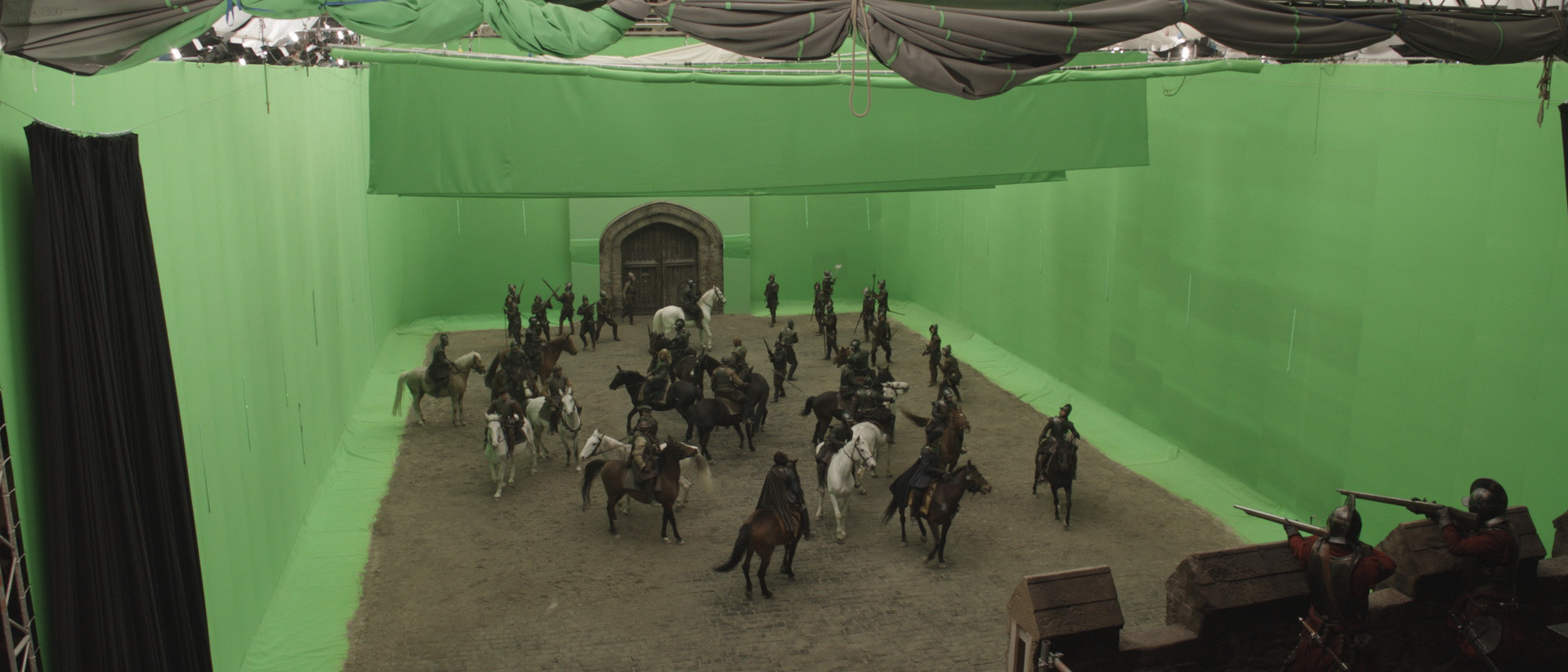 Set photography for Whitehall stand-off