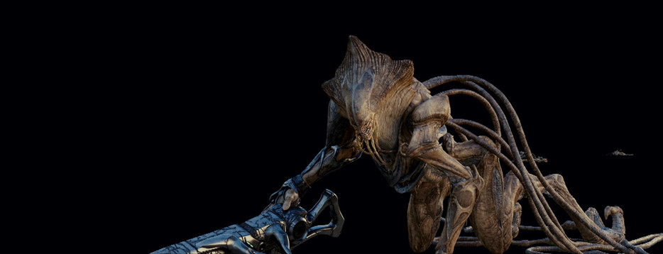 CG alien element by Image Engine