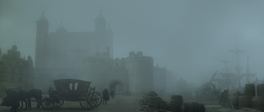 Exterior Tower of London finished composite