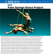 DCN News The Palm Springs Dance Project