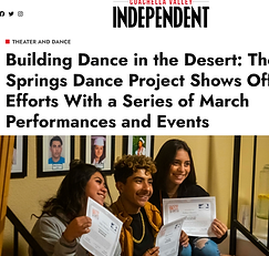 The Palm Springs Dance Project Independent