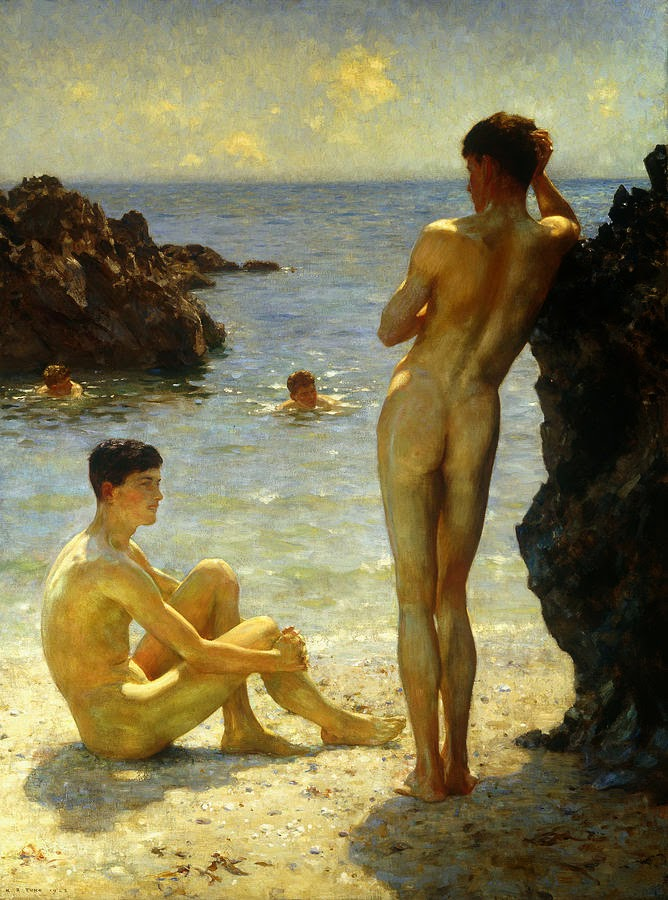 Henry_Scott_Tuke_Lovers_of_the_Sun