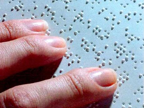 Минтруд России сообщает о создании технологии распознавания азбуки Брайля