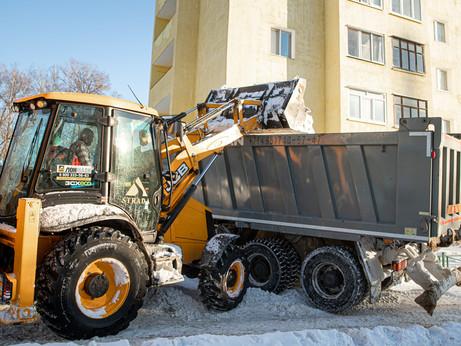 26 тысяч кубометров снега вывезут с улиц городского округа Солнечногорск до конца текущей недели