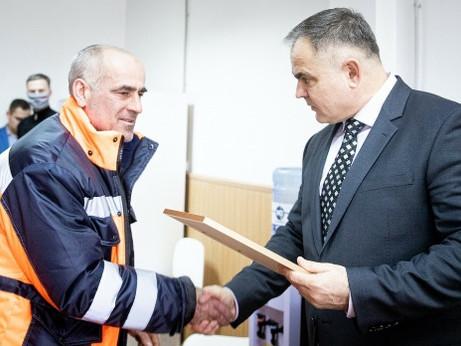 Временно исполняющий полномочия главы городского округа Солнечногорск Виктор Родионов поблагодарил к