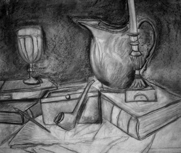 Charocal Drawing