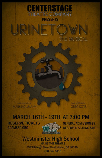 Urine Town Show Poster