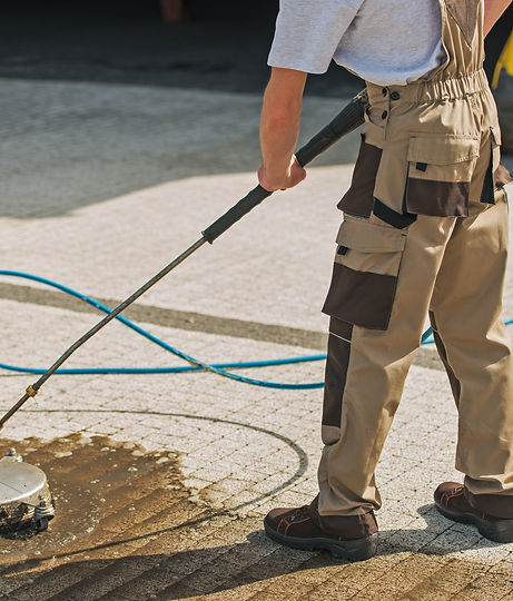 Residential Driveway Washing and Cleanin
