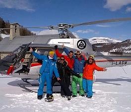 heli-ski