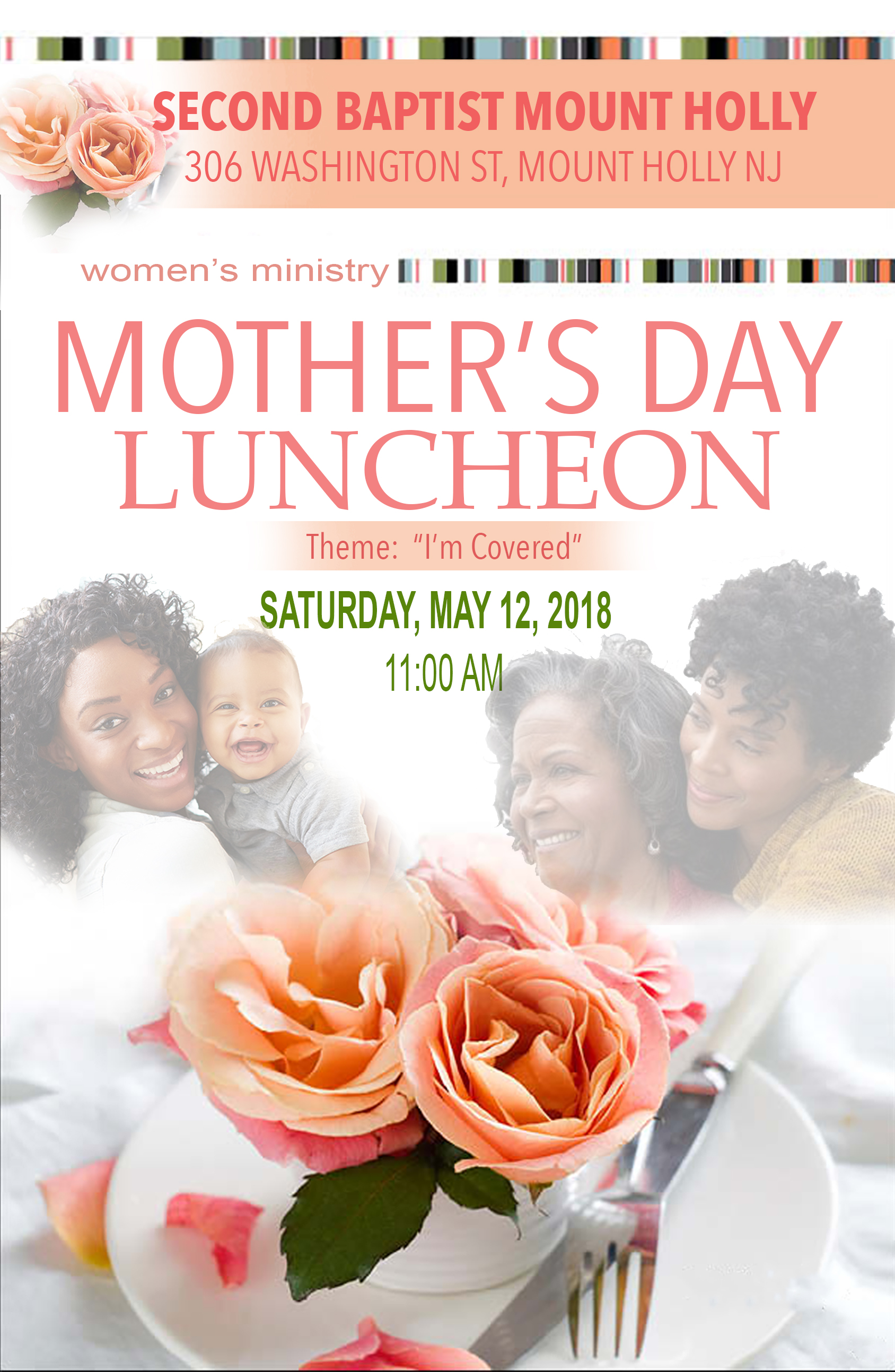 MOTHER'S DAY LUNCHEON PROGRAM COVER