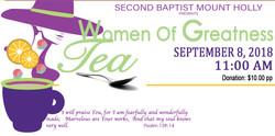 WOMEN TEA website