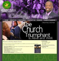 Mount Peace Baptist ChurchHOME