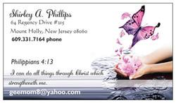 SHIRLEY BUS CARD