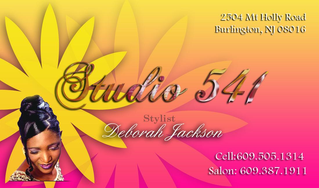 Studio 541 Bizcard Front