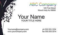 STOCK BUSINESS CARD 8