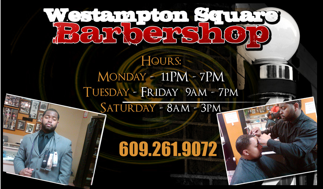 Kyle Barber Shop Business Card