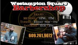 Kyle Barber Shop Business Card