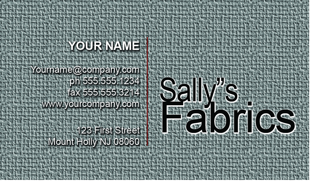 STOCK BUSINESS CARD 5