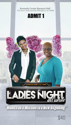 Ladies Night Ticket