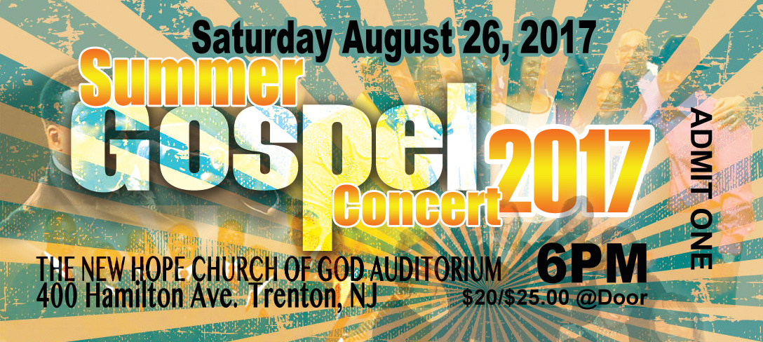 SUMMER GOSPEL TICKET