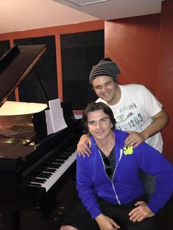 Nazareno Andorno and Juanes