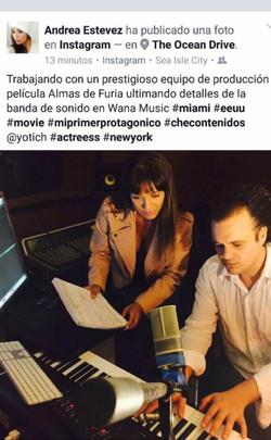 Nazareno Andorno and Andrea Estevez