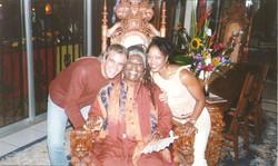 Nazareno Andorno and Mama Marley