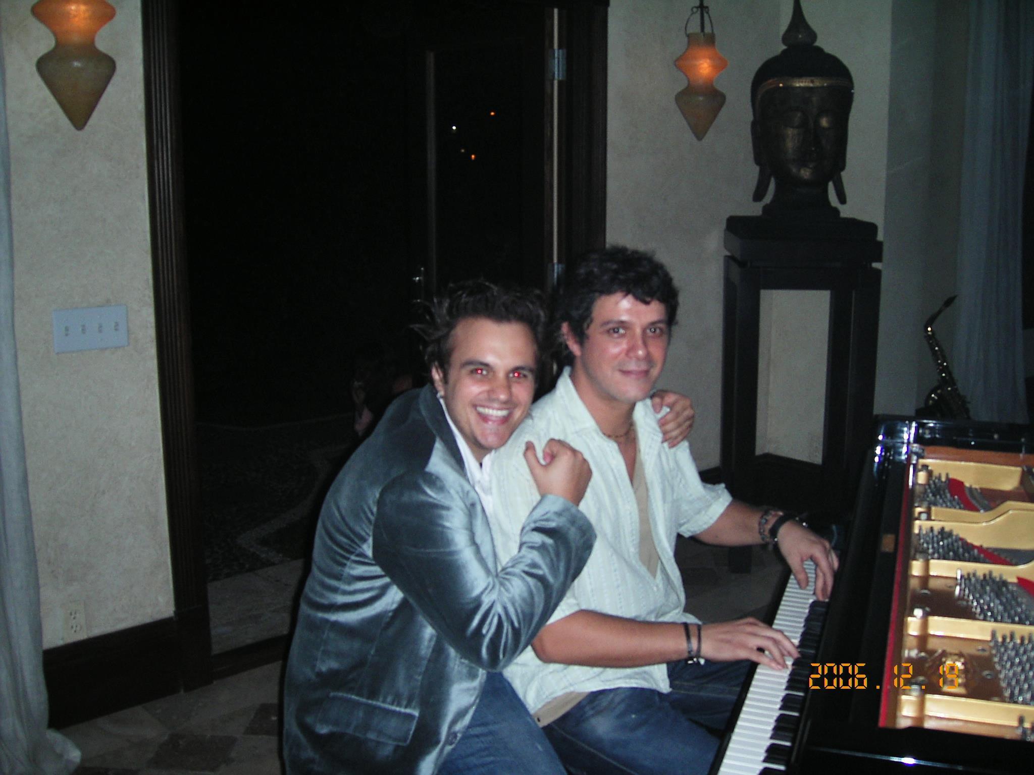Nazareno Andorno and Alejandro Sanz