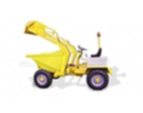 Harlow Dumper with shovel Modern Machinery Trading LLC