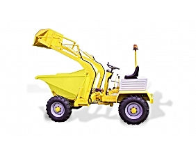Harlow Dumper with shovel Modern Machinery Trading LLC
