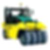 Ammann Pneumatic Roller Compactor
