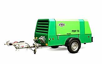 ATMOS Portable Diessel Compressor Modern Machiney Trading LLC