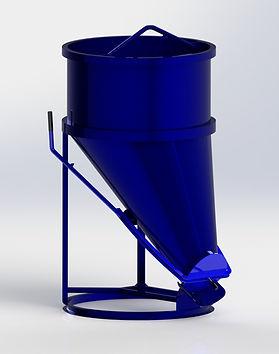 SkyLift Side Discharge Concrete Bucket