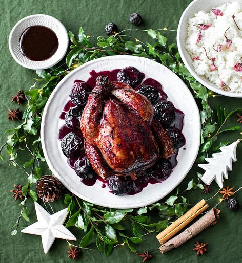 Black Doris plum chicken
