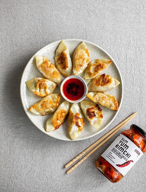 Kimchi Dumplings for Living Goodness