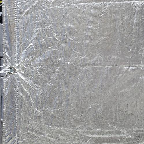 Текстиль LA Rag House 8'x 8' Silver Lame