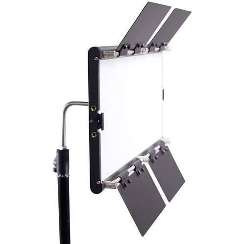 Dracast LED1000 Silver Series Bi-Color LED Light with V-Mount Battery Plate