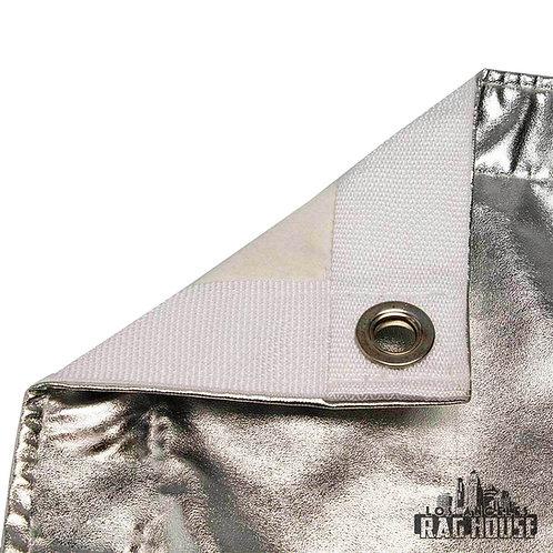Текстиль 6' x 6' LA Rag House Silver Lame\White
